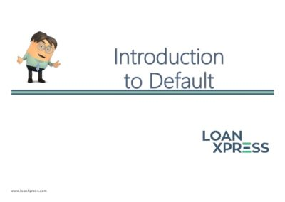 Introduction to Default